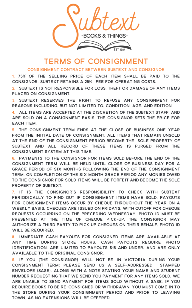 Subtext Consignment_Terms