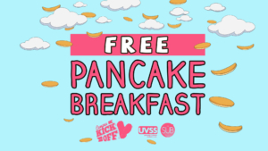 CKO: Free Pancake Breakfast @ Michele Pujol Room
