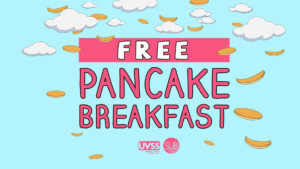 Free! Pancake Breakfast @ The Student Union Building