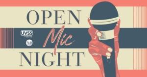 Open Mic Night @ University of Victoria Students' Society (UVSS)   Victoria   BC   Canada