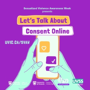 Sexualized Violence Awareness Week 2020 @ Online via Zoom