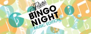Felicita's Bingo Night: Music Edition Online @ Felicita's