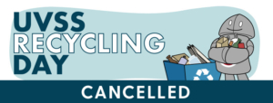 UVSS Recycling Day (CANCELLED) @ The Student Union Building