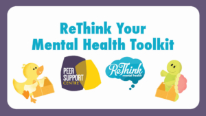 ReThink Your Mental Health Toolkit Workshop: Stress buster @ SUB Upper Lounge